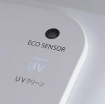 オート節電ECO機能